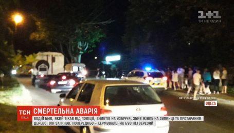 Пьяный водитель сбил пешехода, протаранил дерево, врезался в магазин и погиб