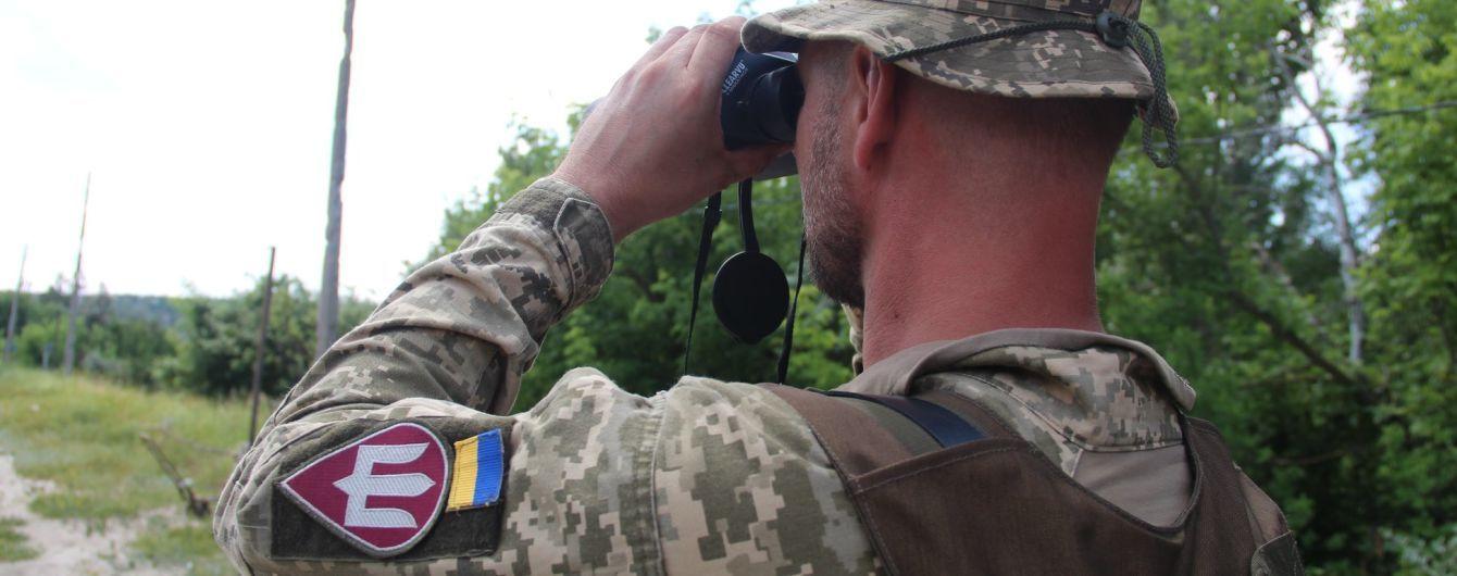 Терористи на Донбасі 19 разів порушували режим тиші  та використовували заборонену зброю