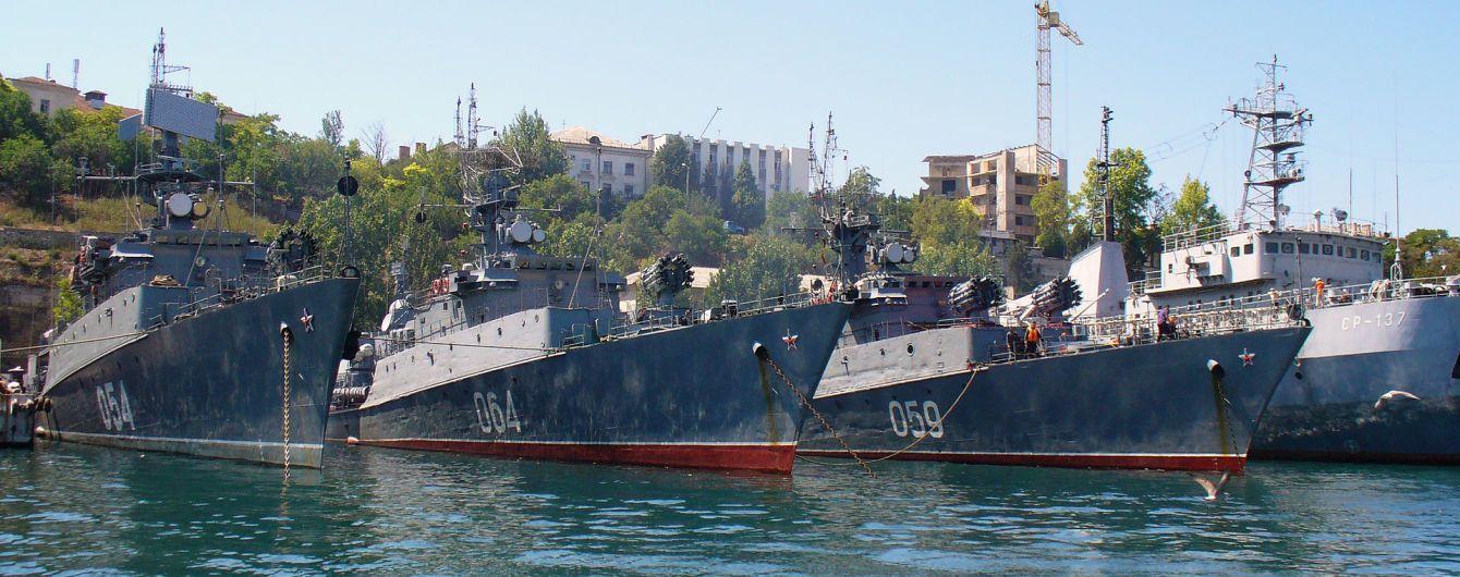 Росія посилила військову присутність в Азовському морі