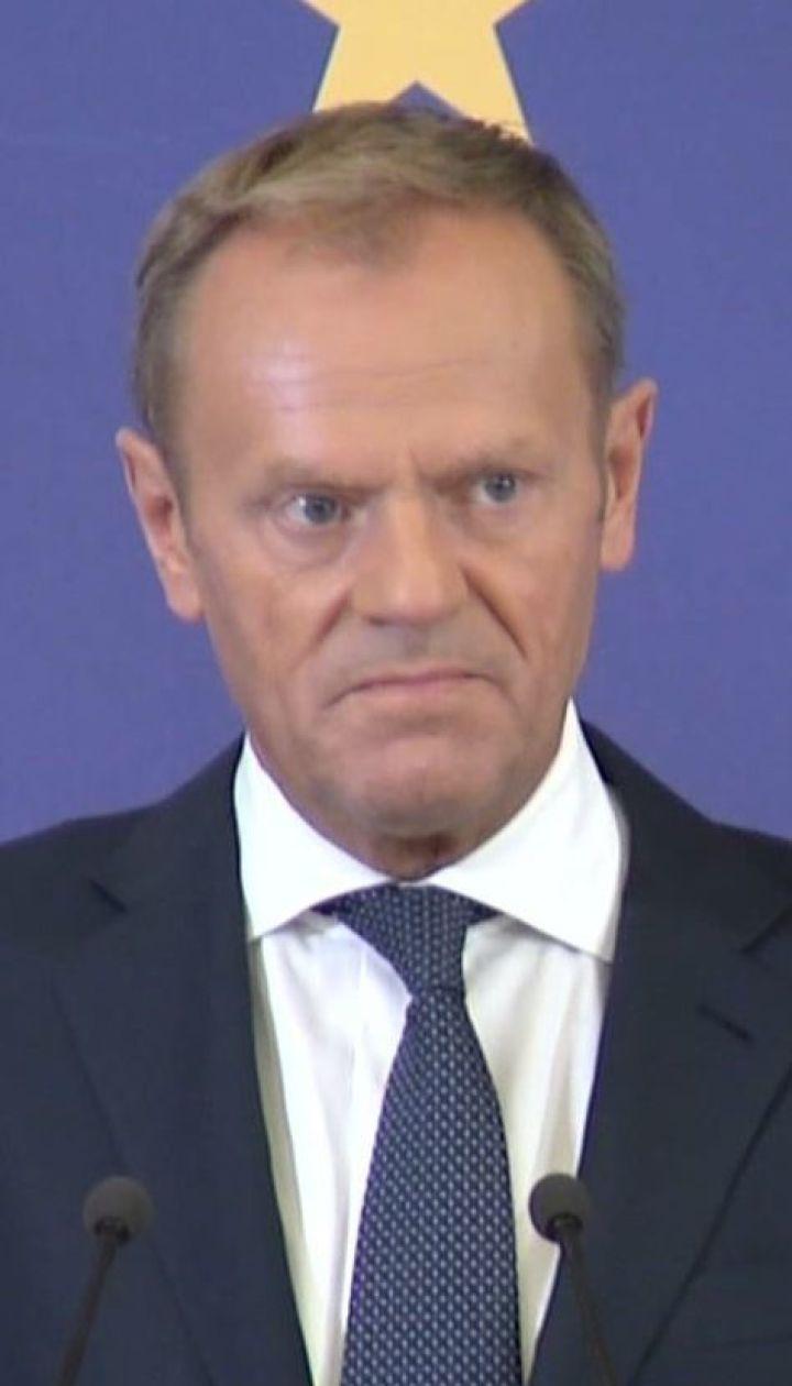 Дональд Туск закликав Росію звільнити всіх незаконно затриманих українців