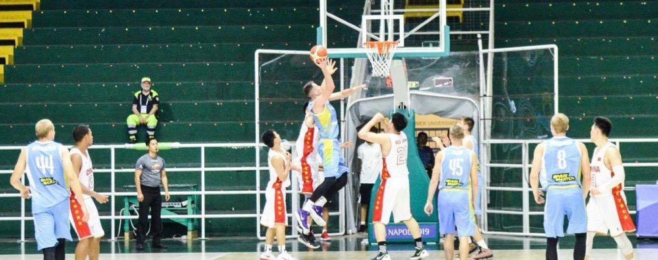 Сборная Украины по баскетболу победила Канаду и вышла в полуфинал Универсиады