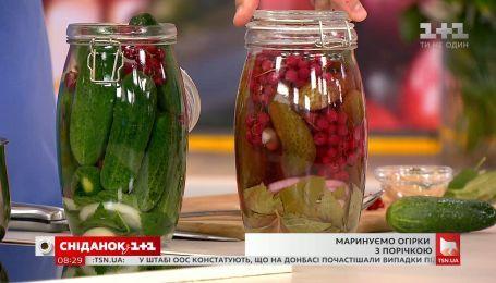 Маринованные огурцы с красной смородиной - рецепты Руслана Сеничкина