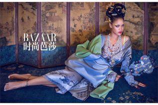 Эпатажная Рианна в кимоно и полупрозрачном платье удивила образом
