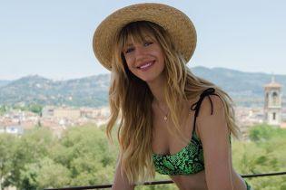 В питоновом купальнике и шляпе: счастливая Леся Никитюк в Италии