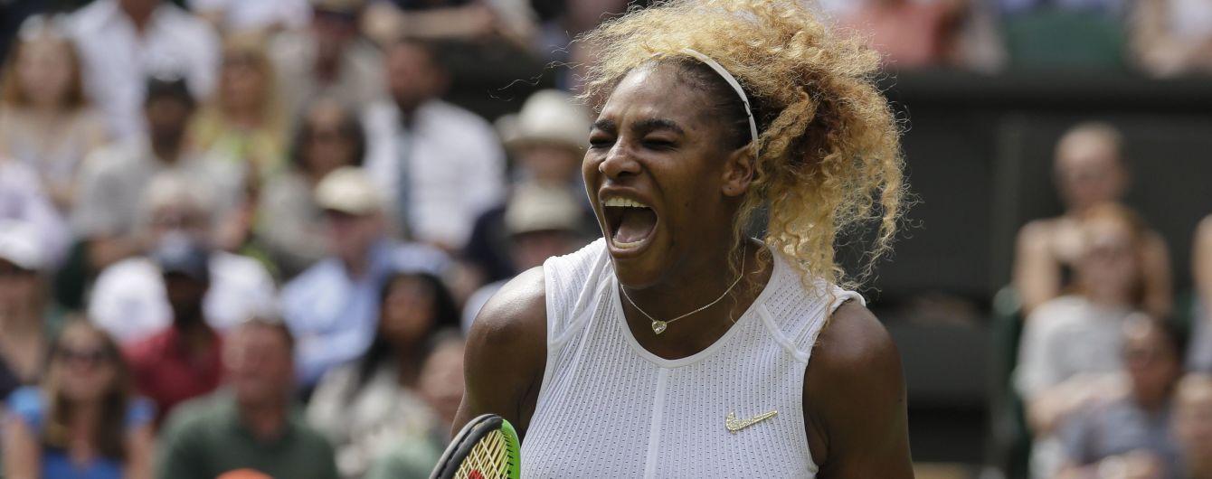 Серена Уильямс и Халеп стали первыми полуфиналистками Wimbledon-2019