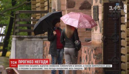 Спека поступово спадає в усіх регіонах України