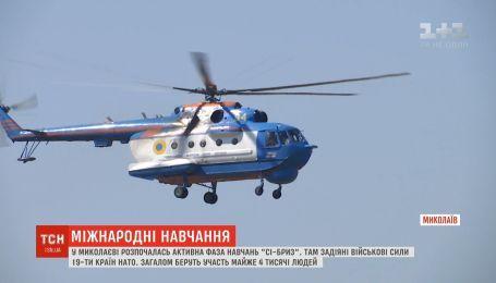 Почти 4 тысячи человек принимают участие в международных военных учениях в Николаеве