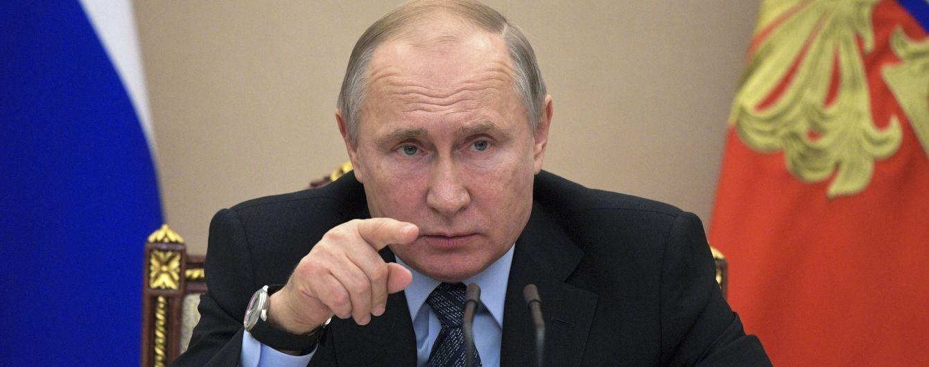 Путин уволил девять генералов