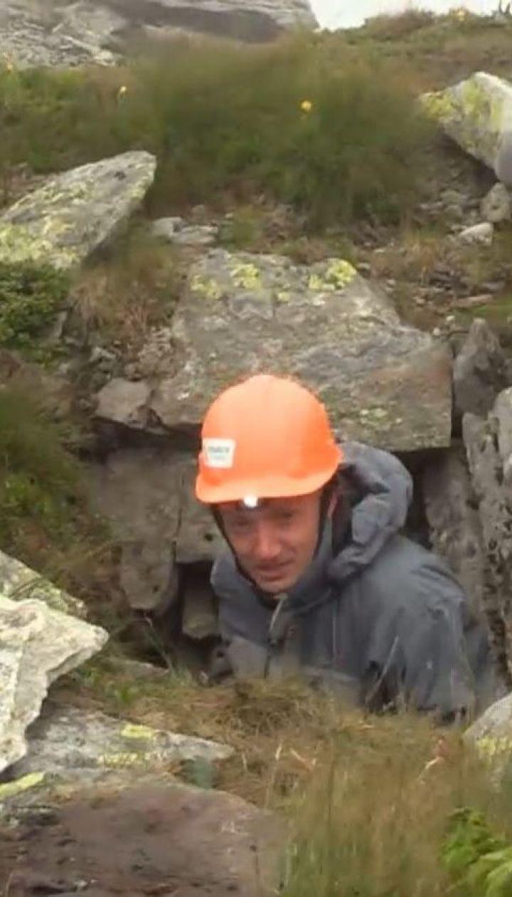 Самую высокогорную пещеру нашел спасатель в Карпатах