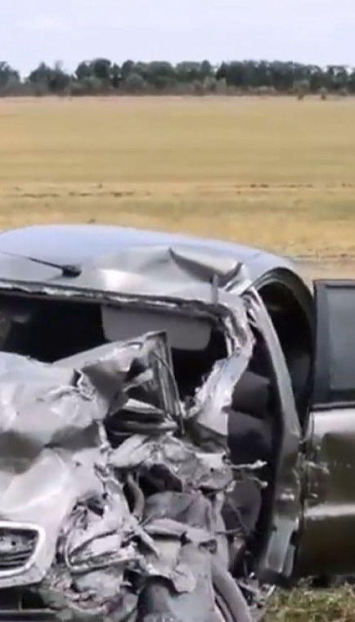 Жуткая авария произошла под Николаевом: травмирована семья с 8-летним ребенком