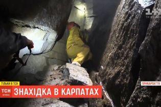 В Карпатах нашли наиболее высокогорную пещеру в Украине