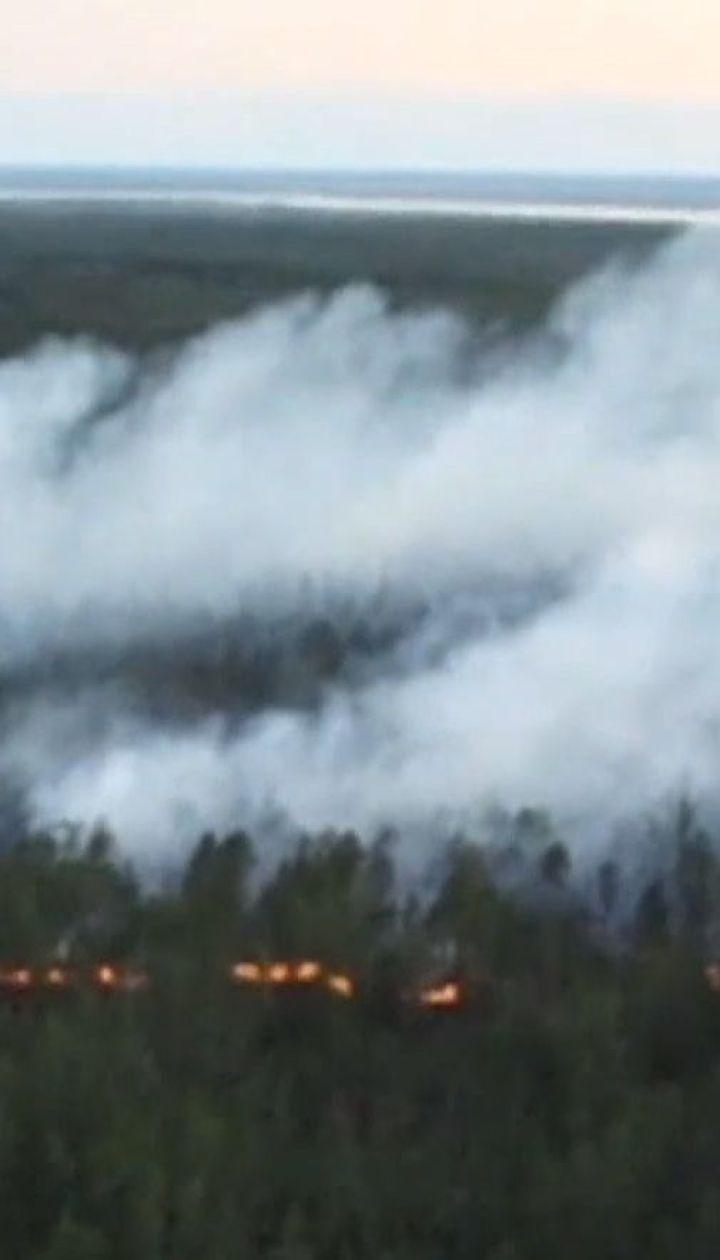 В Сибири горят 600 тысяч гектаров леса