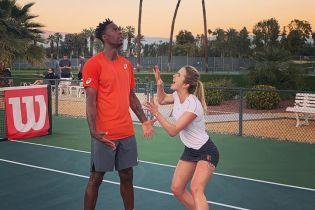 Монфис зажигательным танцем отпраздновал выход Свитолиной в полуфинал Wimbledon