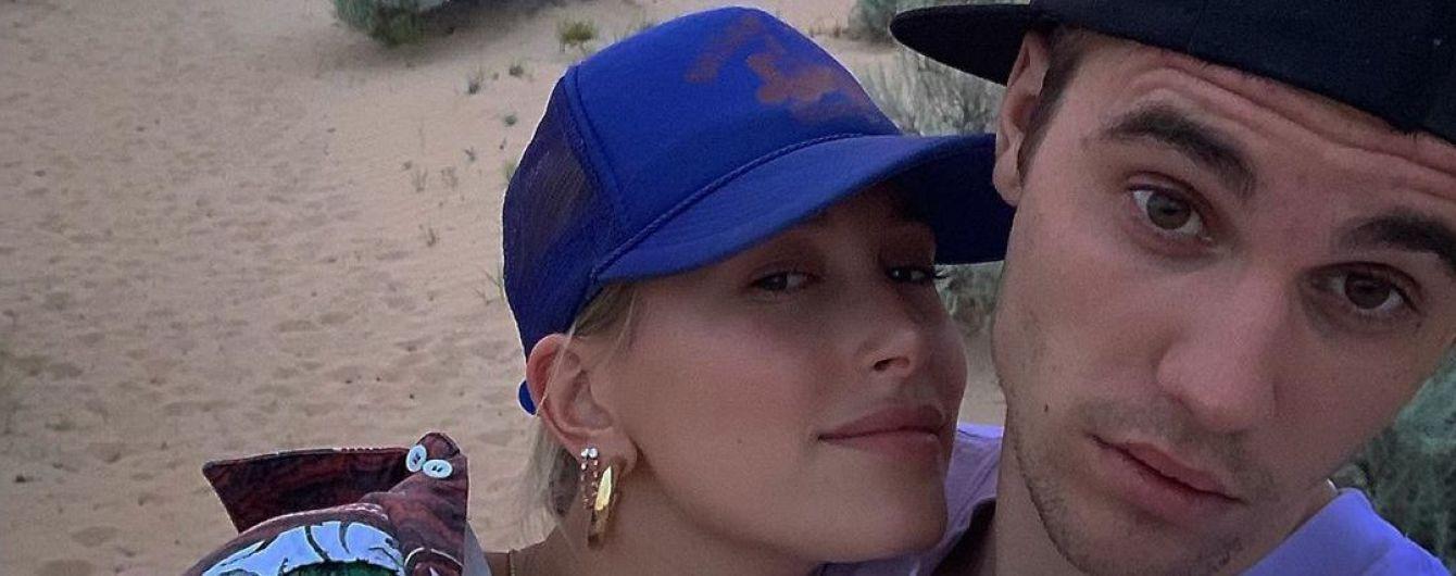 """""""Мои губы завидуют моим рукам"""": Бибер поделился интимным снимком с женой"""