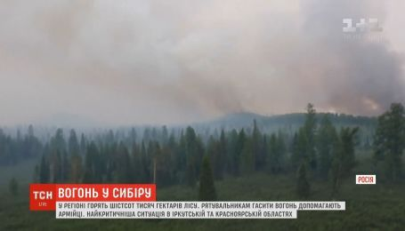Через масштабну лісову пожежу у Сибіру оголосили надзвичайний стан
