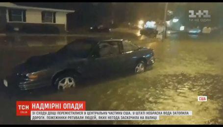 США страдают от сильных ливней и потопов