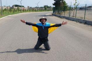Український мандрівник, якого затримали в Ірані під час навколосвітньої подорожі, повернувся додому