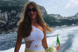 Оце фігура: Софія Вергара поділилася знімками зі своїх італійських канікул