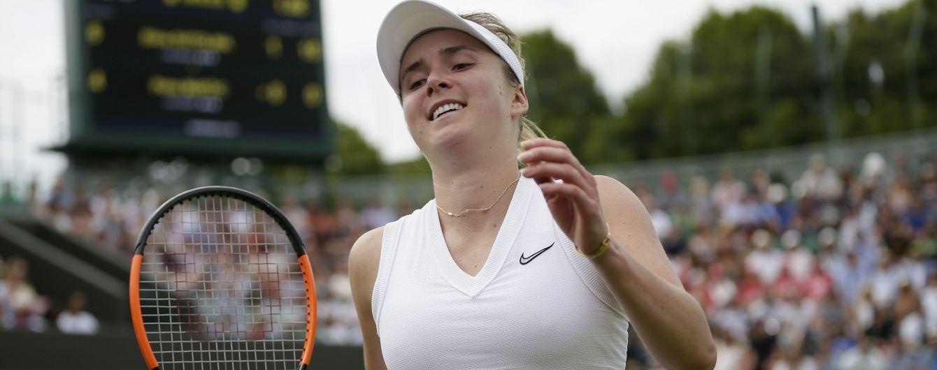 Букмекери не ставлять на Світоліну в півфіналі Wimbledon