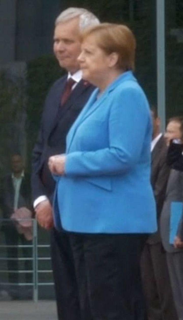 Ангелі Меркель стало зле під час зустрічі з прем'єр-міністром Фінляндії