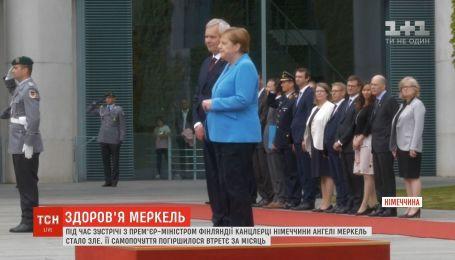 Ангеле Меркель стало плохо во время встречи с премьер-министром Финляндии