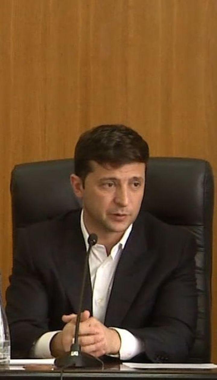 Зеленський вигнав чиновника із зустрічі в Борисполі
