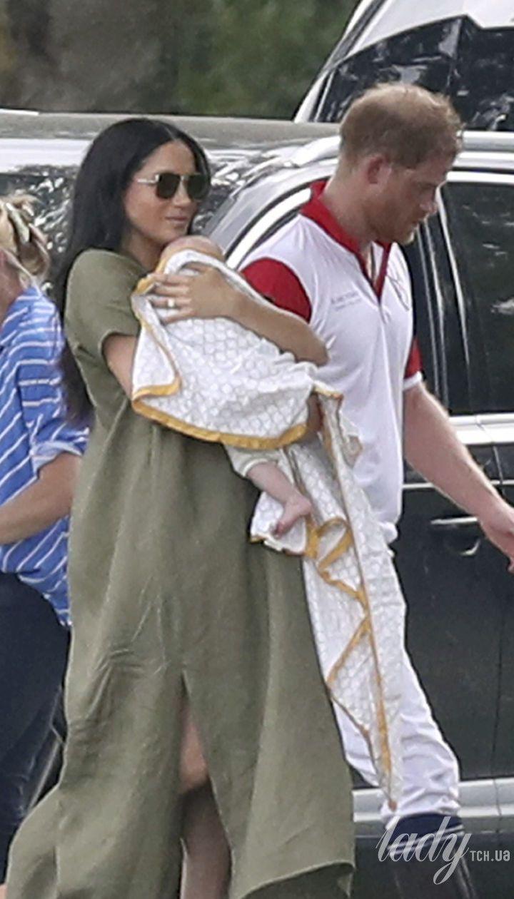 Герцогиня Сассекська з сином Арчі