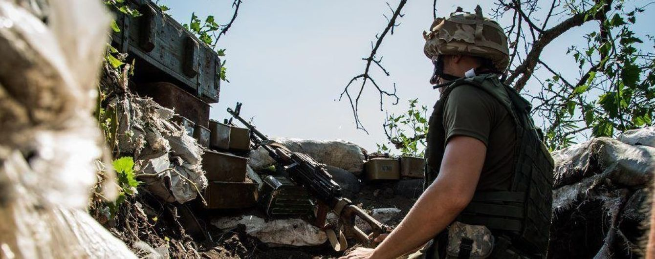 Российские террористы 10 раз нарушали режим прекращения огня: боец ООС ранен