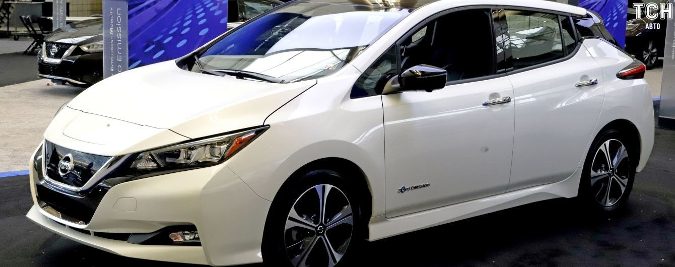 У Nissan розповіли, як Leaf буде набивати кишені власників грошима