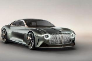 Bentley представила роскошный тысячесильный электрокар