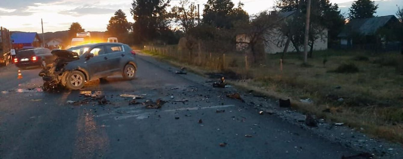 Смертельное ДТП на Франковщине. Во время столкновения автомобилей погибли дети
