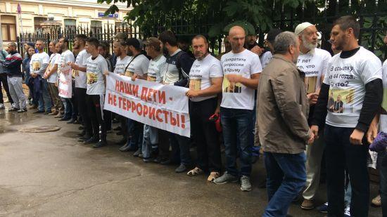 У Москві затримали півсотні людей, які прийшли підтримати незаконно засуджених кримських татар