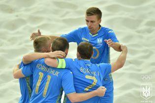 Збірна України кваліфікувалася на Всесвітні пляжні ігри