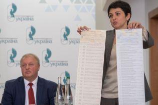 В ЦИК показали бюллетени на выборы в Раду