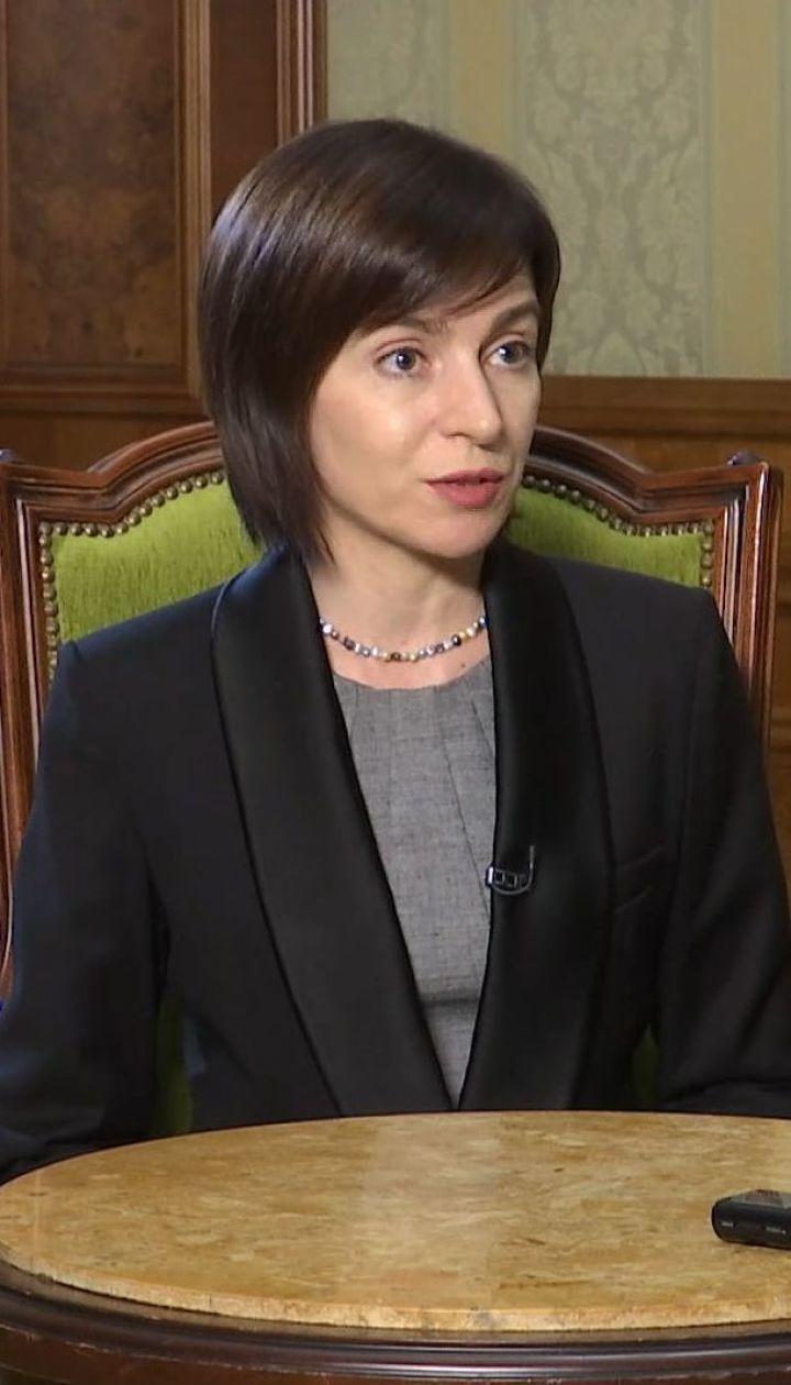 Прем'єрка Молдови: корупція – це одна з головних проблем країни