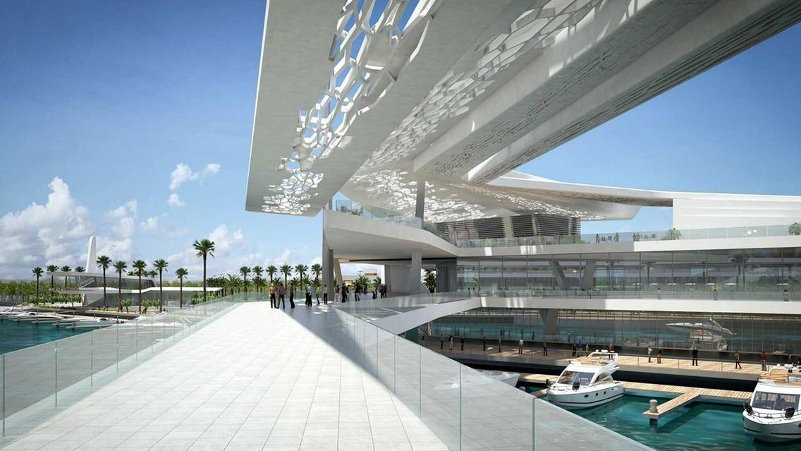 Абу-Даби аквариум