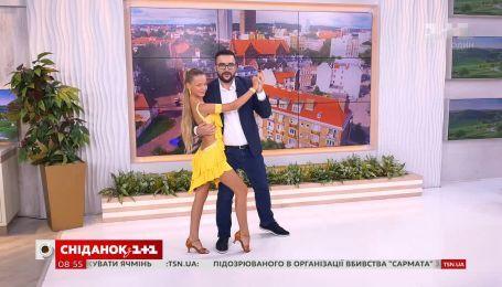 Руслан Сеничкин станцевал с многоразовым призером в спортивно-бальных танцах Яной Клак