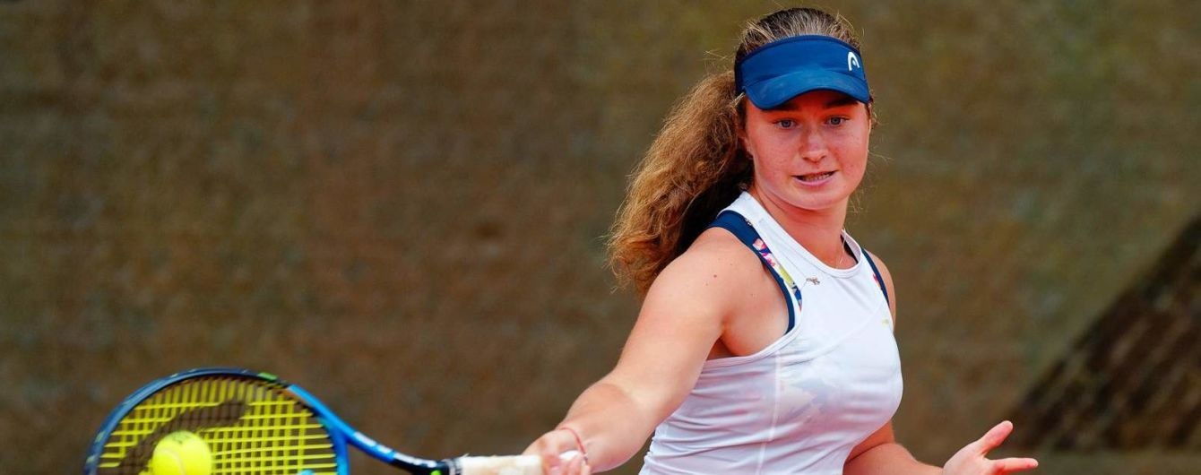 Украинская юниорка на своем первом Australian Open вышла в 1/8 финала