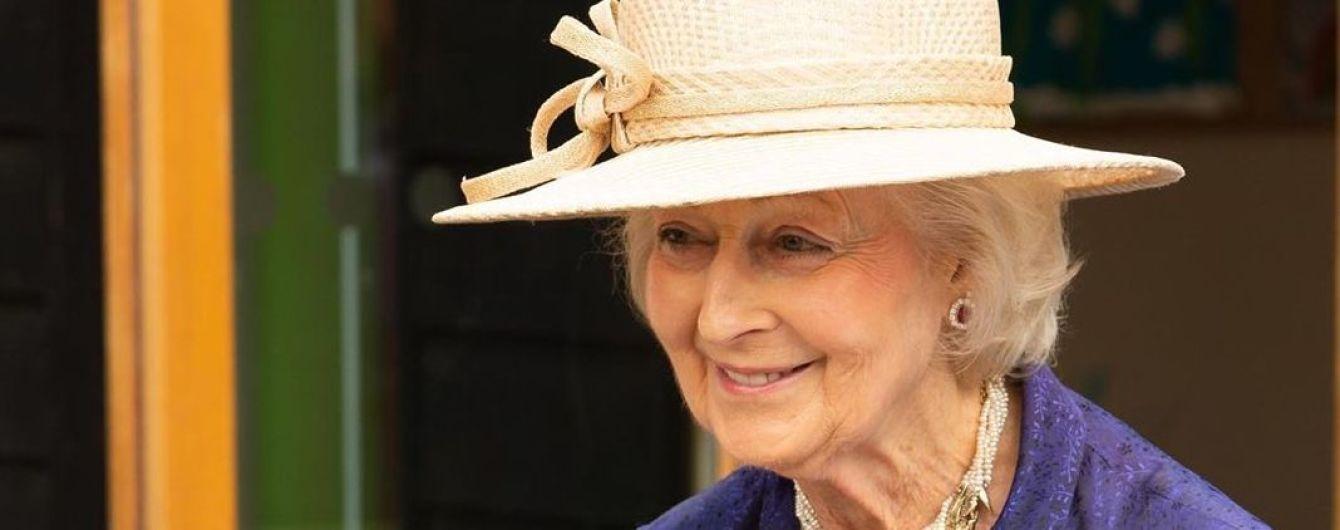 Ах, яка гарна: сестра королеви Єлизавети II - принцеса Олександра - на квітковій виставці
