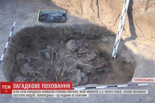 На Тернопільщині археологи виявили дивне поховання, якому 3500 років