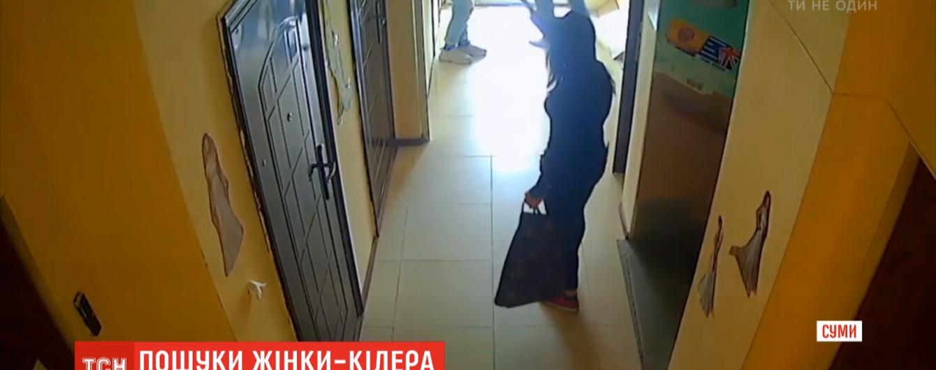 В Сумах задержали девушку, которая расстреляла предпринимателя с дочкой