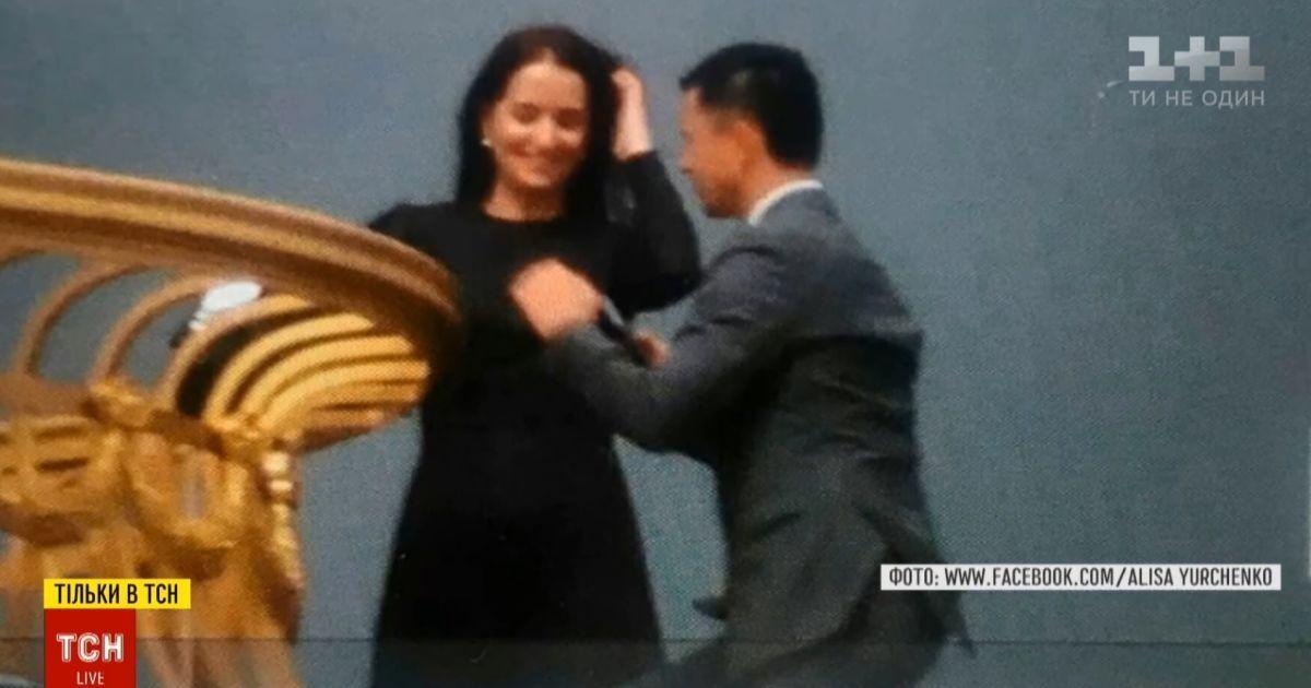 Не Зеленский и не признание в любви: ТСН узнала, кто был на крыше ВР и взбудоражил этим соцсети