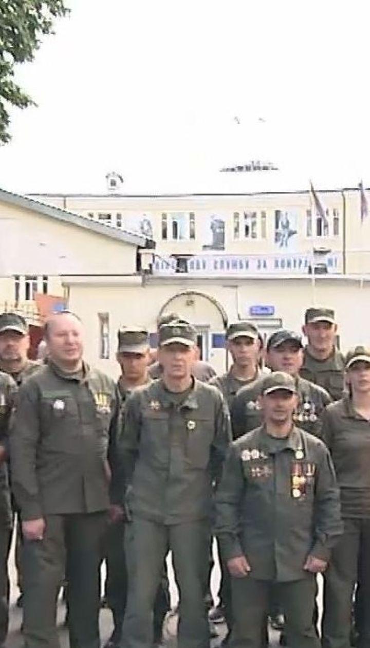 Боевые побратимы Виталия Маркива записали видеообращение к украинцам