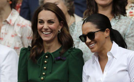 Меган і Кейт вперше з'явилися на трибунах Вімблдону без супроводу чоловіків