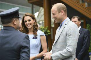 Счастливые Кейт и Уильям посетили заключительный день Уимблдонского турнира