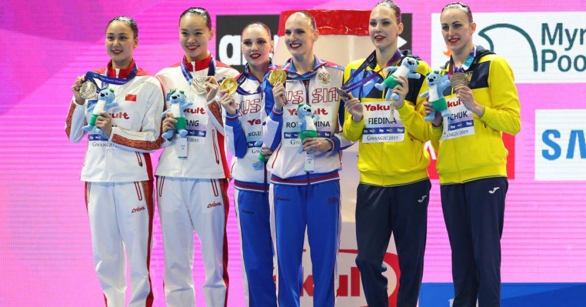 Україна виграла першу медаль на Чемпіонаті світу з водних видів спорту