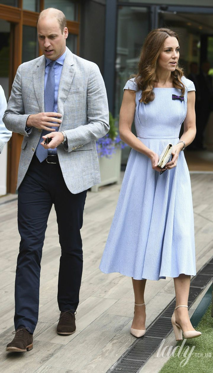 Герцогиня Кембриджская и принц Уильям