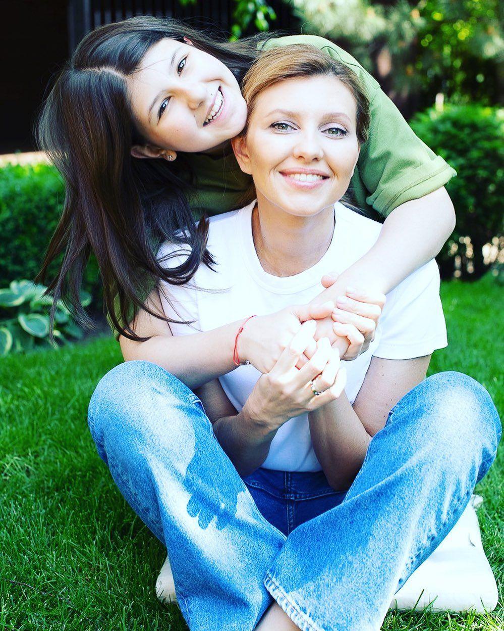Донька і дружина Володимира Зеленського