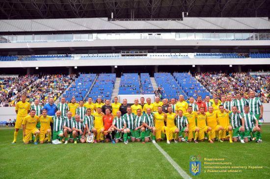 У Львові відсвяткували 125-річчя українського футболу матчем легенд