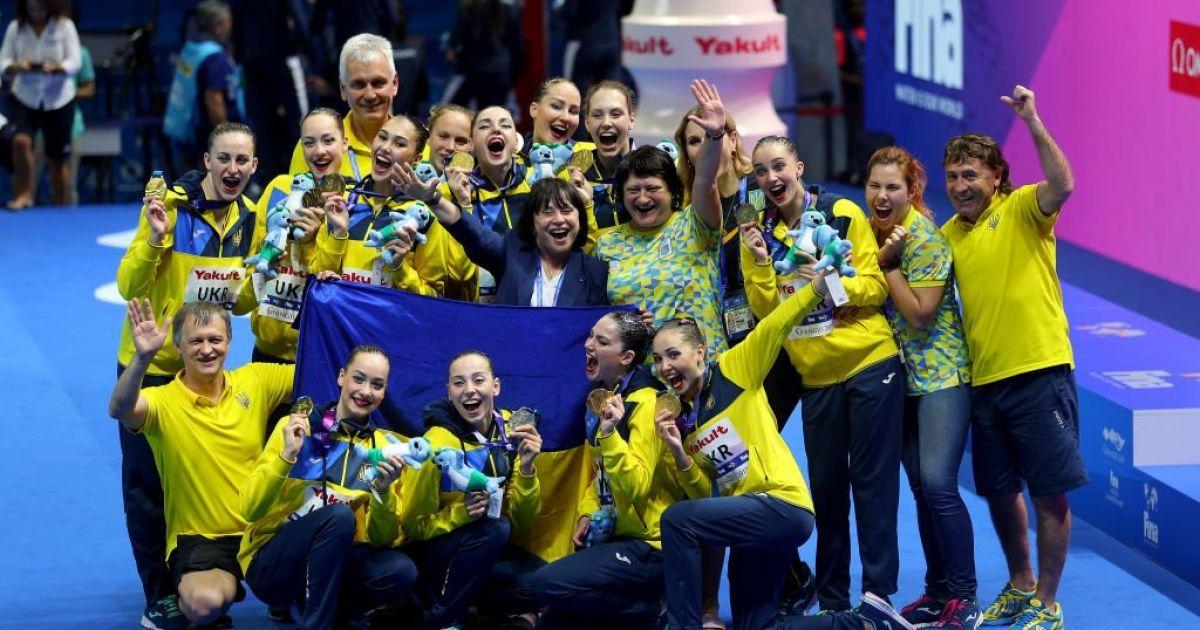 Історичне досягнення. Україна стала першим чемпіоном у новій дисципліні артистичного плавання на ЧС